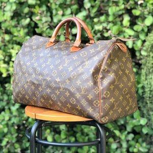 Authentic Louis Vuitton LV Monogram Speedy 40 Bag